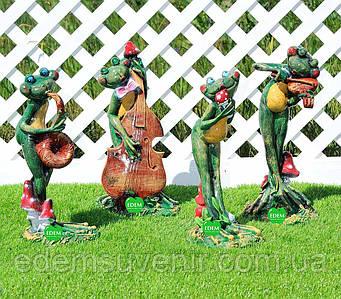 Садовая фигура Лягушки Квартет