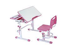 Эргономический комплект Cubby парта и стул-трансформеры Botero Pink - ОПТОМ ДЛЯ ШКОЛ, фото 2