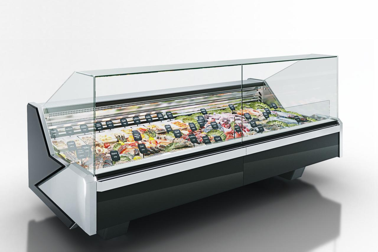 Холодильная витрина для рыбы на льду MISSOURI ENIGMA MC 125 FISH OS/SELF M/A