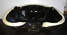 Раковина Нью Йорк к парикмахерской мойке. Раковина парикмахерская черная 54х52х29 см, фото 3