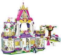Детский конструктор для девочек Замок принцессы Qman 2611