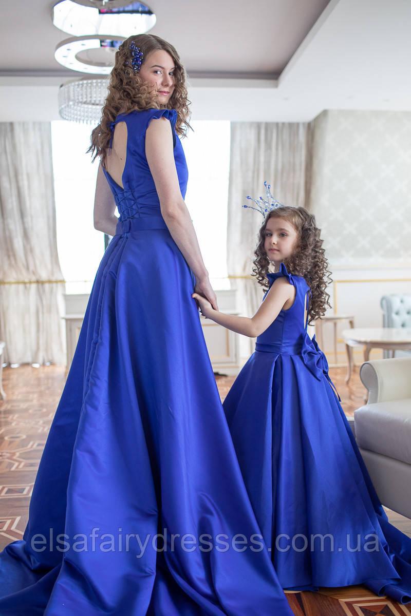 "FAMILY LOOK / Комплект мама і дочка ""KATRIN"" MAXY"