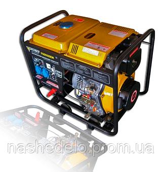 Дизельный сварочный генератор Forte FGD 6500EW