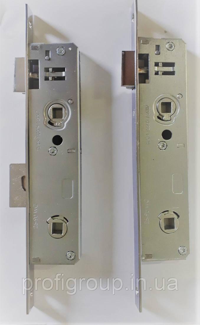 Замок дверний (D35/90) засувка/рыгель WC (сантехническй) VORNE для вхідних дверей санвузла