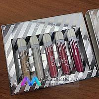 Помада Kylie Sugar набор жидких матовых губных помад блеск бархатная Кайли Кайлі lip set