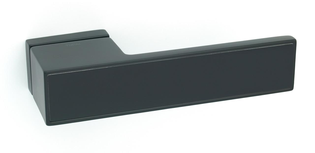 Дверні ручки Tupai 3084 RT/153 чорний матовий