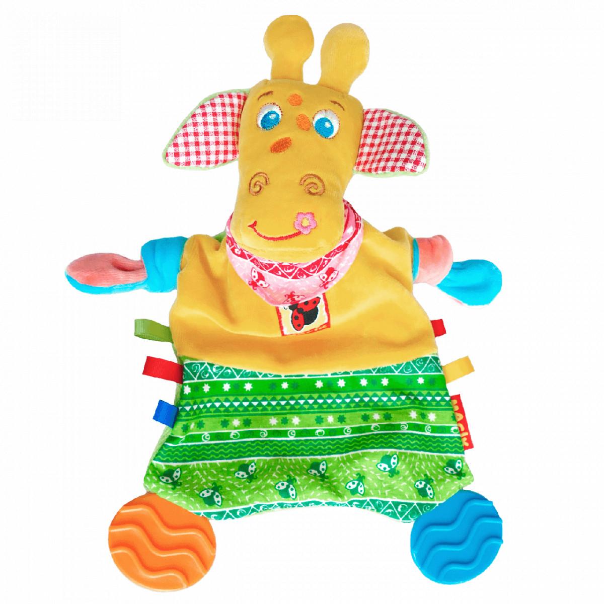 Игрушка с прорезывателем для зубов Жираф, Macik (МС 160201-01)