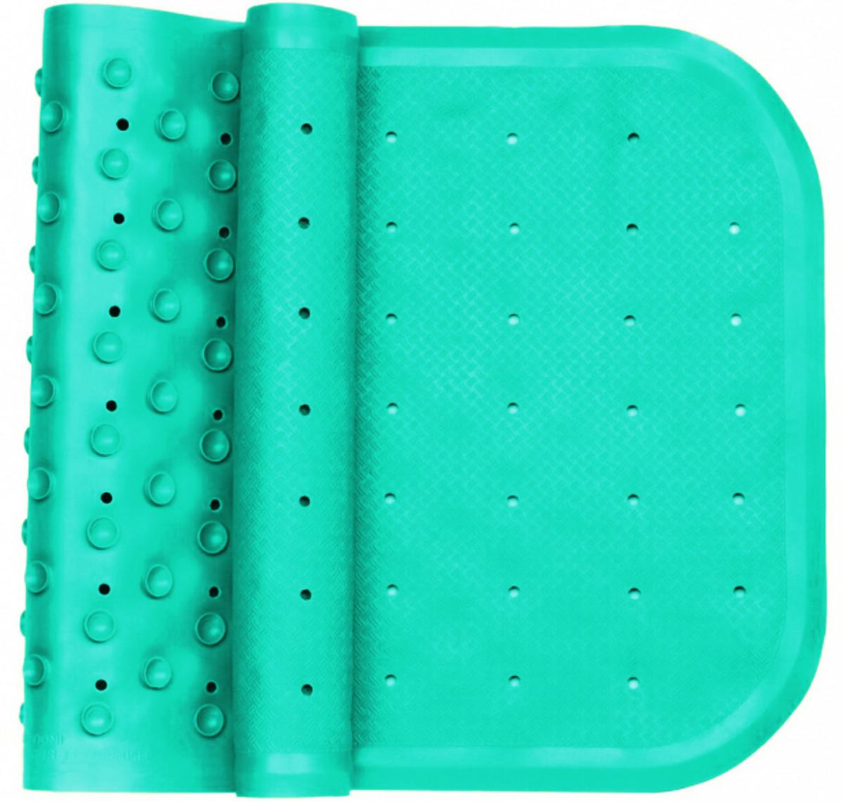 Антискользящий коврик для купания в ванной бирюзовый, KinderenOK (071113_005)