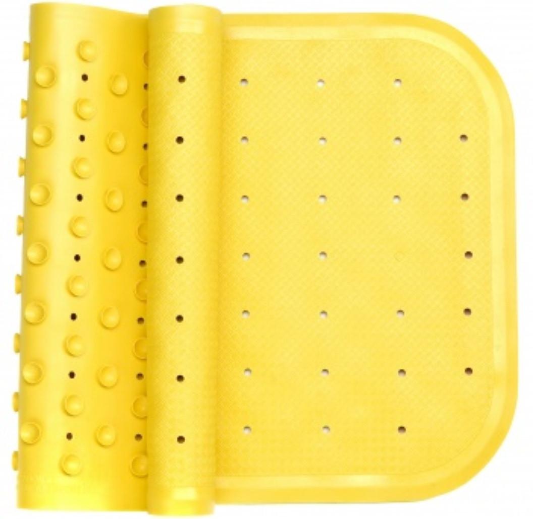 Антискользящий коврик на дно ванны желтый, KinderenOK (071113_001)