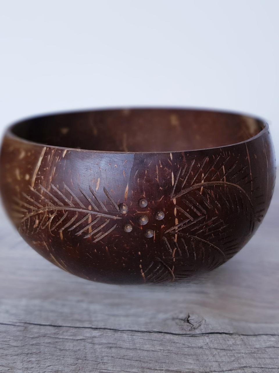 """Кокосовая чаша большая  """"Цветок"""" (Coconut Bowl)"""