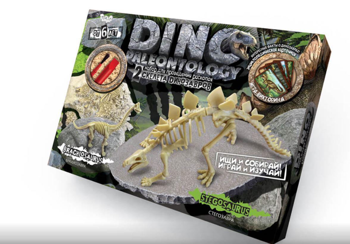 Большие раскопки динозавров Брахиозавр Стегозавр, Danko Toys (DP-01-01)