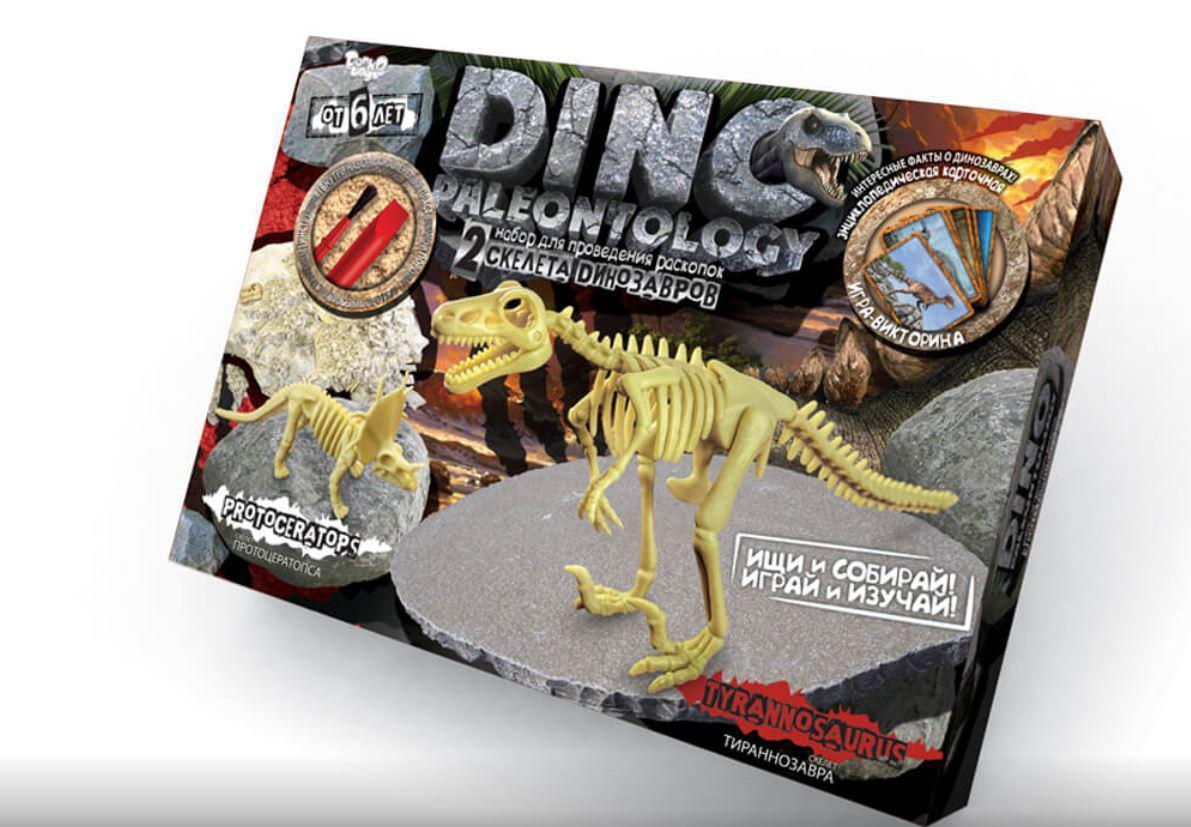 Великі розкопки динозаврів Тиранозавр Протоцератопс, Danko Toys (DP-01-03)