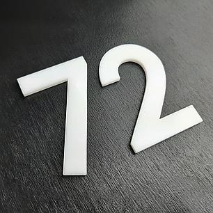 Цифри на двері з пластику, фото 2