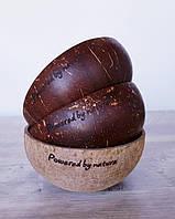 "Кокосовая чаша ""Powered by Nature"" Сoconut Bowls"
