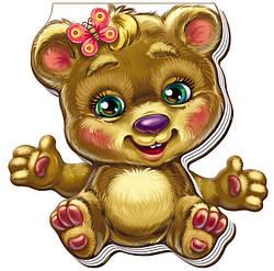 Книжка картонка для малышей Забавные лапки Медвежонок (рус), Ранок (А340003Р)