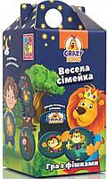 Гра з фішками Весела сімейка (укр), Vladi Toys (VT8033-05)