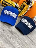 Брендовая кепка Dsquared2 D9375 синяя, фото 4
