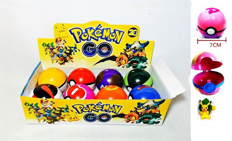 """Набор покебол с фигуркой """"Pokemon Go/ Покемоны"""""""