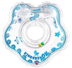 Круг на шею для купания в ванной Капелька прозрачный, KinderenOK (204238_005)