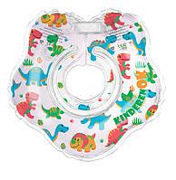 Круг на шею для купания младенцев Динозаврики, KinderenOK (230318)