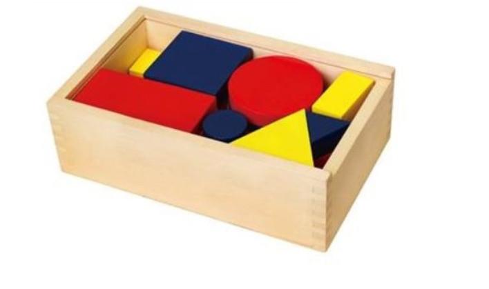 Логические блоки Дьенеша, деревянные