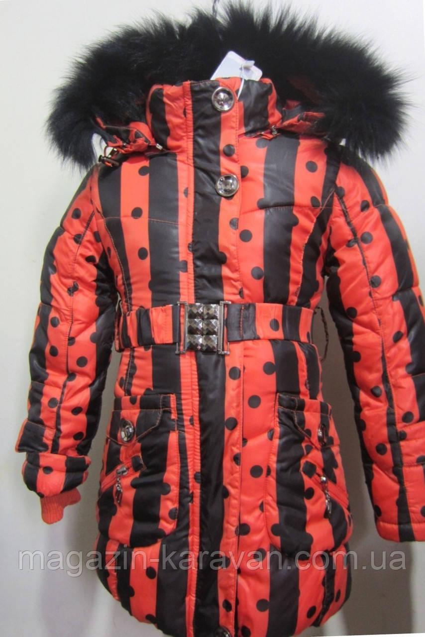 Зимняя куртка для девочки с подстежкой. 1818-1
