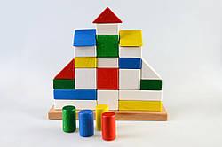Детская деревянная пирамидка Замок, Тато (КС-003)