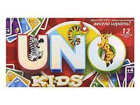 Детская настольная карточная игра Уно Uno kids, Danko Toys (SPG11)
