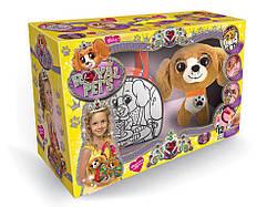Детская сумочка раскраска с Питомцем Собачка, Danko Toys (RP-01-03)