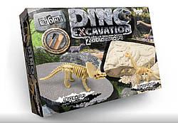 Детские раскопки динозавров Трицератопс Брахиозавр, Danko Toys (DEX-01-01)