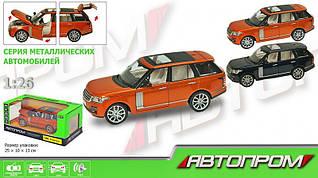Машина метал. Range Rover Sport