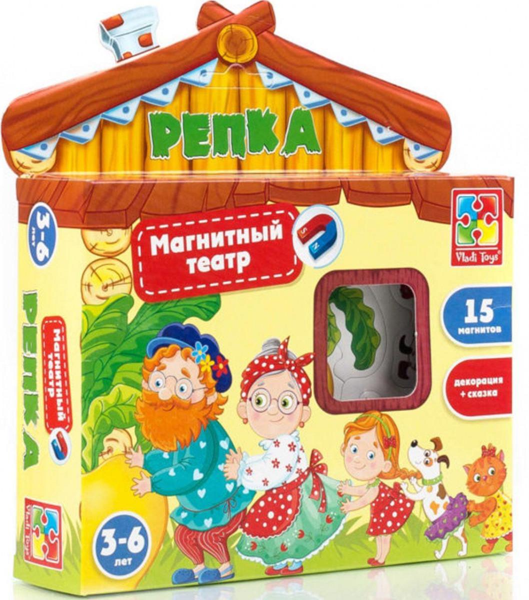 Дитячий магнітний театр Ріпка (рос), Vladi Toys (VT3206-07)