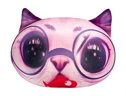 Мягкая антистрессовая игрушка Кот розовый, Danko Toys (DT-ST-01-03)