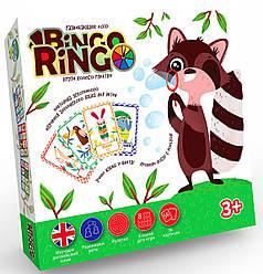 Дитяче розвиваюче Лото Bingo Ringo (укр/англ), Danko Toys (GBR-01-01E)