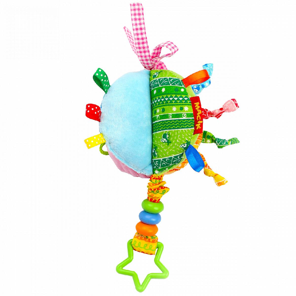 Мягкая игрушка-подвеска на кроватку коляску Бусинки, Macik (МС 110601-03)
