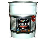 Грунт алкидный KOMPOZIT ГФ-021 антикоррозионный красно-коричневый 12кг
