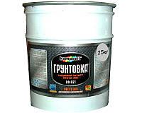Грунт алкидный KOMPOZIT ГФ-021 антикоррозионный светло-серый 25кг