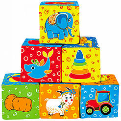 Мягкие кубики Мой маленький мир, Macik (МС 090601-01)