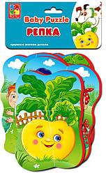 Мягкие пазлы для малышей Репка, Vladi Toys (VT1106-63)