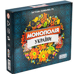 Экономическая игра Монополия Украины (укр), Strateg (7008)