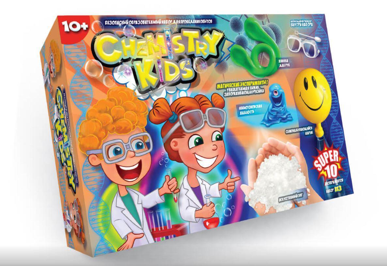 Набор для детских домашних опытов, Danko Toys (CHK-01-03/03U)