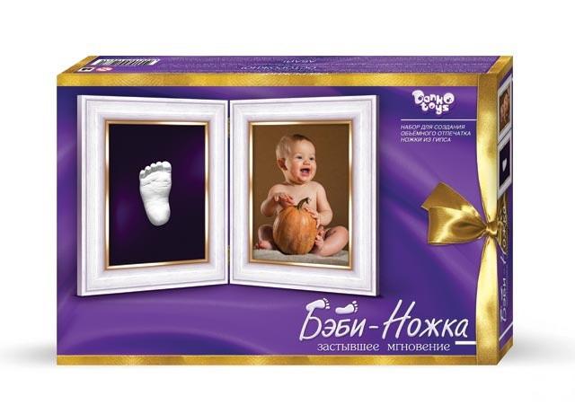 Набір для виготовлення зліпків дитячих ніжок Бебі Ніжка, Danko Toys (БН-01)