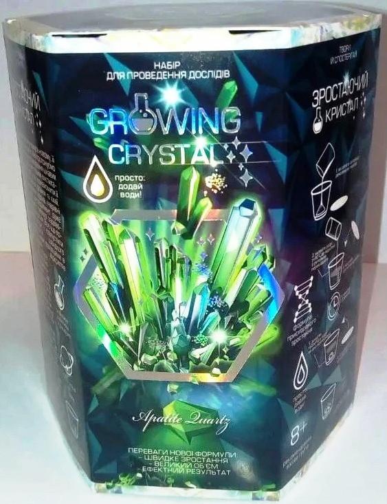 Набор для опытов Выращивание кристаллов (рус/укр), Danko Toys (GRK 01-02U)