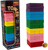Игра Джанга цветная High Tower (укр), Strateg (30715)