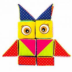 Детские мягкие тканевые кубики, Macik (МС 090602-04)
