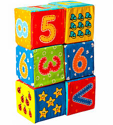Набор мягких кубиков Цифры, Macik (МС 090601-03)