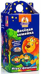 Игра с фишками Веселая семейка (рус), Vladi Toys (VT8033-06)