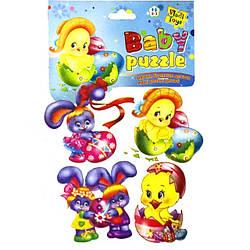 Пазлы для малышей Пасхальные, Vladi Toys (VT1106-27)