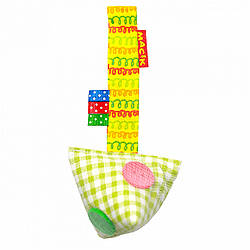Игрушка подвеска на липучке для коляски кроватки Пуговички, Macik (МС 110603-03)