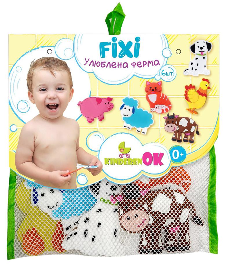 Игрушки на присосках для купания в ванной Ферма, KinderenOK (061113)